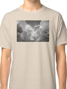 Black And white Sky With Dramatic Storm Clouds Classic T-Shirt