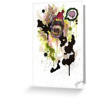 Zombie Greeting Card