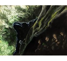 Lord of the Rings Speed Paint Digital Painting Photographic Print