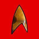 Star Trek red iphone by Margaret Bryant