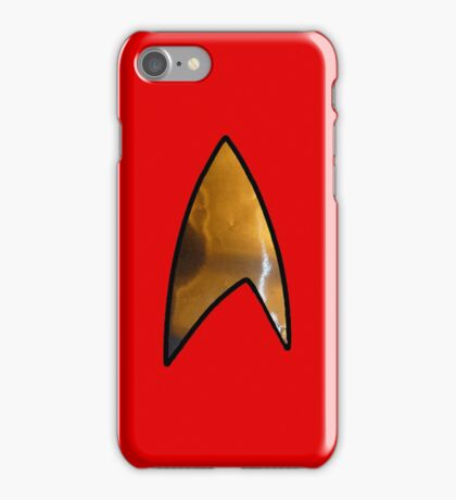 Star Trek red iphone iPhone Case/Skin