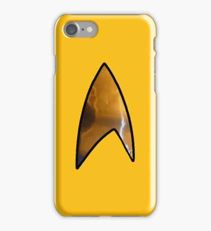 Star Trek iphone gold iPhone Case/Skin