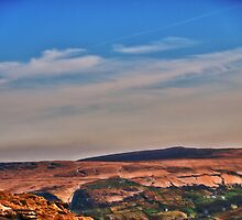 View from Marsden Moor by Glen Allen
