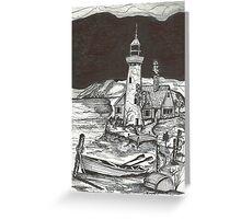 Central Coast Lighthouse Greeting Card