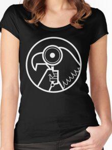 Gravity Falls Secret Agent Women's Fitted Scoop T-Shirt
