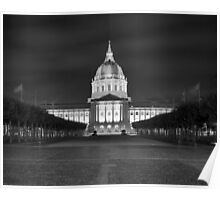 San Francisco City Hall Poster