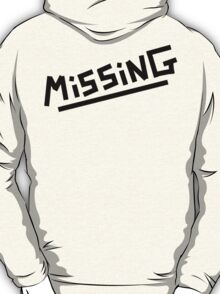 Arctic Monkeys - Missing T-Shirt