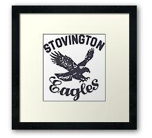 STOVINGTON EAGLES Jack Torrance The Shining Framed Print