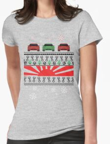 Car part Christmas 2 Womens Fitted T-Shirt