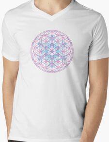 Sacred Geometry Sphere Mens V-Neck T-Shirt