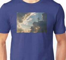 Dramatic Sunbeams And Storm Clouds in Maine Unisex T-Shirt