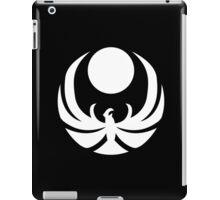 The Nightingale Symbol - White Simple iPad Case/Skin