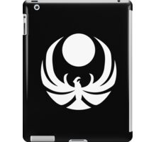 The Nightingale Symbol - White Simple iPad Case/Skin