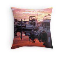 Roche Harbor, San Juan Islands, WA Throw Pillow