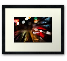 fiesta of the night  Framed Print
