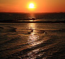 Sunset at Grau D'Agde France by Paul Pasco