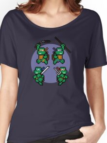 Super TMNT World Women's Relaxed Fit T-Shirt