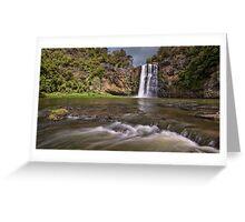 Hunua Falls Greeting Card
