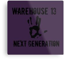 Warehouse 13 Next Gen 2 Metal Print