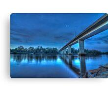 Mildura Bridge, Victoria, Australia - HDR Canvas Print