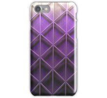 Purple pattern IPhone & IPod case iPhone Case/Skin