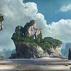 Silent beach by Daniele (Dan-ka) Montella