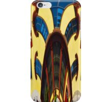 Twisted Hallucination - Primary Colors iPhone Case/Skin