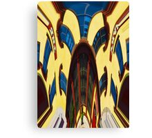Twisted Hallucination - Primary Colors Canvas Print
