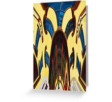 Twisted Hallucination - Primary Colors Greeting Card
