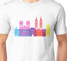 Caen skyline pop Unisex T-Shirt