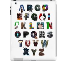 Geek's Alphabet iPad Case/Skin