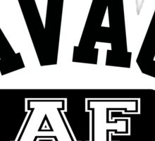 SAVAGE - AF (Black) Sticker