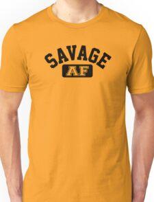 SAVAGE - AF (Black) Unisex T-Shirt