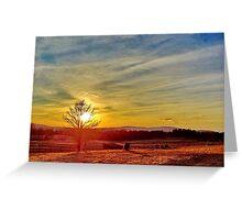 Sunset #10 Greeting Card