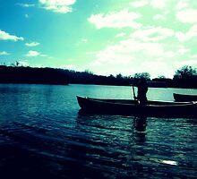 Canoeing, Norfolk Broads by HopefulHarrie