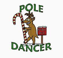 Funny Christmas Dancer Reindeer North Pole Pun Unisex T-Shirt