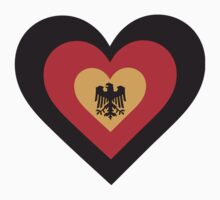 Germany Heart Kids Clothes