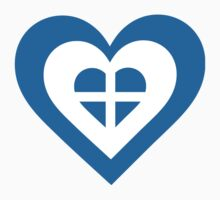 Greece Heart by Maria Bell