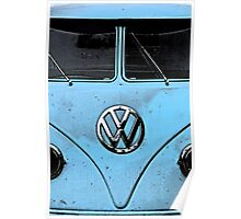 VW Kombi NSW Australia Poster