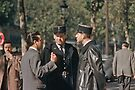 Paris Policemen 19570914 0001  by Fred Mitchell