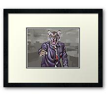 Tiger Boss Framed Print