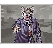 Tiger Boss Photographic Print