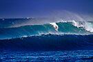 Surfer at Sunset Beach by Alex Preiss