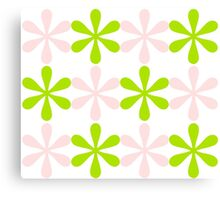 Green and Pink Design Canvas Print