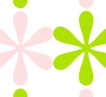 Green and Pink Design Sticker