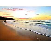 Perfect Morning - Bateau Bay Beach Photographic Print