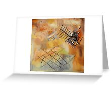 Drifting Apart Greeting Card