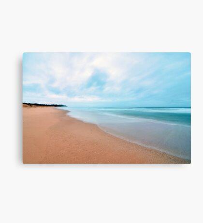 Peaceful Morning - Bateau Bay Beach Canvas Print