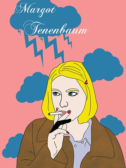 Margot Tenenbaum by TatiDuarte
