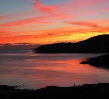 My most amazing sunset - September 2005 by Gordon Ross